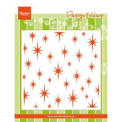 (DF3429)Marianne Design Embossing folder Sparkles