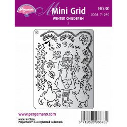 Pergamano Mini set grille 30 Winter Children 2 (71030)