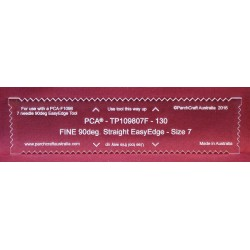 (TP109807F)PCA® Fine 130mm 90deg Straight EasyEdge - Size 7