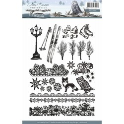(ADCS10011)Clearstamp - Amy Design - Wintertide