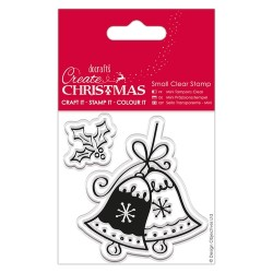 (PMA907250)Small Clear Stamps - Christmas Bell
