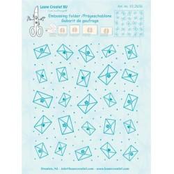 (35.2656)Embossing folder Background Envelopes