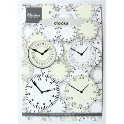 (JU0956)Marianne Design Clocks