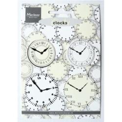 (JU0956)Marianne Design Clocks