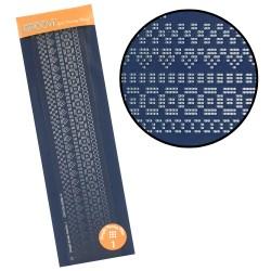 (GRO-GG-40350-14)Groovi plate Piercing straight 1