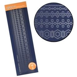 (GRO-GG-40355-14)Groovi plate Piercing diagonal 2