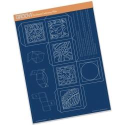 (GRO-TE-40371-16)Groovi plate A4 Christmas Box