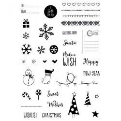 CUT-IES stamp clear Little Presents