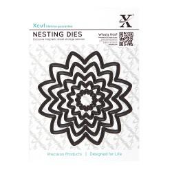 (XCU503414)Nesting Dies (5pcs) - Flower