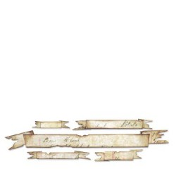 (657179)Decorative strip TH tattered banners