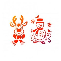 (9002.711.00)Viva Decor stencil A4 Winter