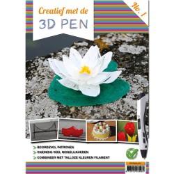 (3DpenBA4001)A4 boek - Creatief met de 3D-pen