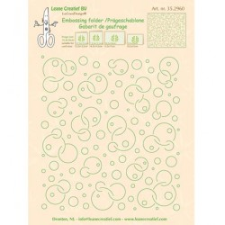 (35.2960)Embossing folder Background Circles