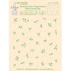 (35.2953)Embossing folder background Little Flowers