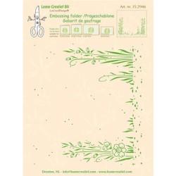 (35.2946)Embossing folder Garden