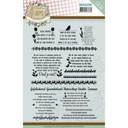 (YCCS10029)Clearstamp - Yvonne Creations - Spring-tastic - Tekst