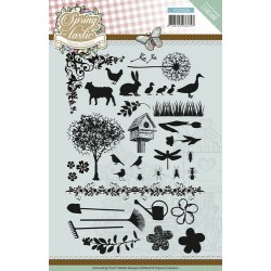 (YCCS10028)Clearstamp - Yvonne Creations - Spring-tastic