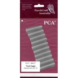 (PCA-M4017)PCA - Spare plastic TOOL CAPS (pkt 10)