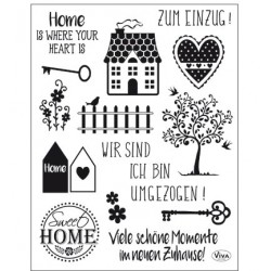 (4003 163 00)Clear Stamps - Sweet Home