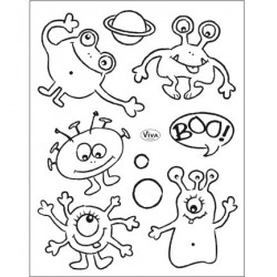 (4003 154 00)Clear Stamps - Kleine Monster