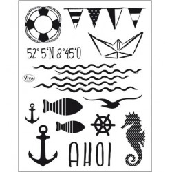 (4003 160 00)Clear Stamps - Ahoi