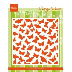 (DF3433)Marianne Design Embossing folder Butterflies