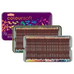 (0701029)Derwent coloursoft Pencils 72 colours