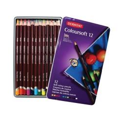 (0701026)Derwent coloursoft Pencils 12 colours