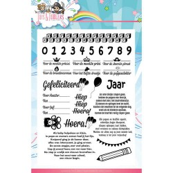 (YCCS10031)Clearstamp - Yvonne Creations - Tots and Toddlers - T