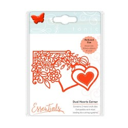 (1538E)Tonic Studios Die fanciful floral - duel hearts
