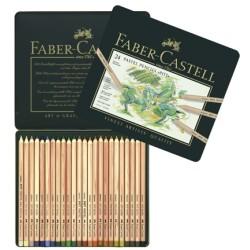 (FC-112124)Faber Castell Pencils PITT Pastel 24 pieces