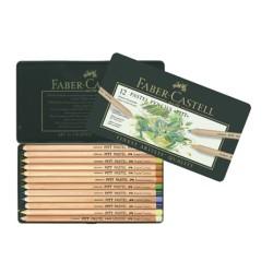 (FC-112112)Faber Castell Pencils PITT Pastel 12 pieces