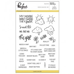 (PFCS1317)Pinkfresh clear stamp Mood swings