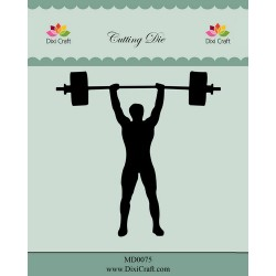 (MD0075)Dixi die weightlifting