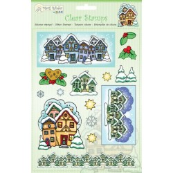 (9.0039)Marij Rahder Clear Stamp christmas