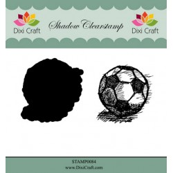(STAMP0084)Dixi Shadow Clear Stamp football