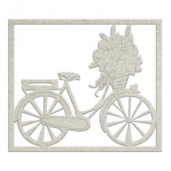 FabScraps Die-Cuts Chipboard Embellishment Bicycle