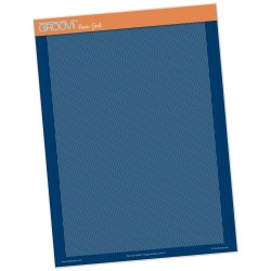 (GRO-GG-40529-17)Groovi plate Piercing diagonal A4