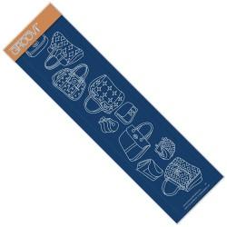 (GRO-FA-40498-09)Groovi Plate Borders Bags