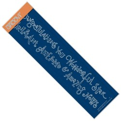 (GRO-WO-40561-09)Groovi Border Plate Congratulations & Brilliant Word Chains