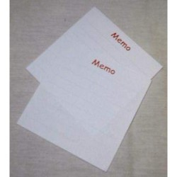 (840041)Memo blok 7 X 7 cm 10 pcs