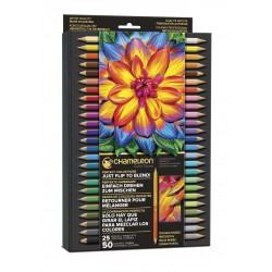 (PE2501)Chameleon Colorpencils, set à 25 pcs