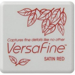 (VF-SML-010)Versafine Inkpad mini Satin red