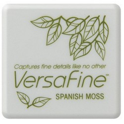 (VF-SML-062)Versafine Inkpad mini Spanish moss