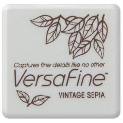 (VF-SML-054)Versafine Inkpad mini Vintage sepia