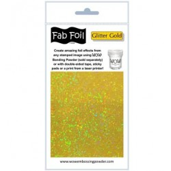 (W216-GG15)Fabulous Foil - Glitter Gold