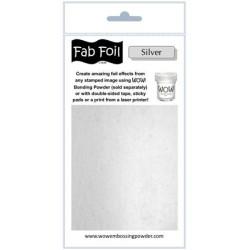 (W216-S01)Fabulous Foil - Bright Silver