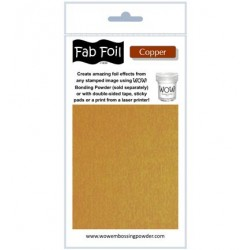 (W216-COP30)Fabulous Foil - Bright Copper