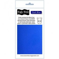 (W216-BL23)Fabulous Foil - Dark Blue