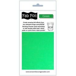 (W216-GR80)Fabulous Foil -  Green